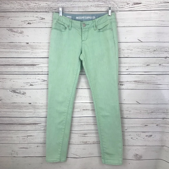 Mossimo Supply Co. Denim - Mossimo Supply Co. Mint Green Jeans